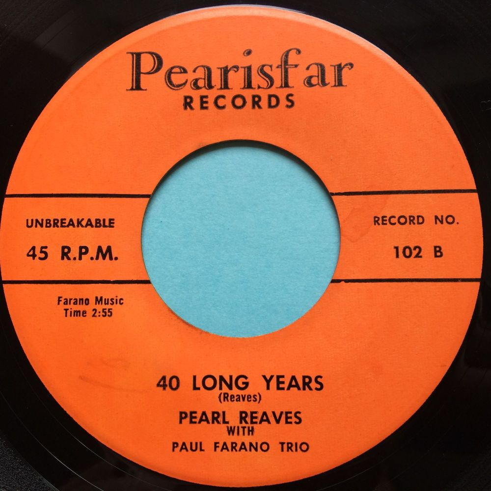 Pearl Reaves - 40 long years - Pearisfar - Ex-