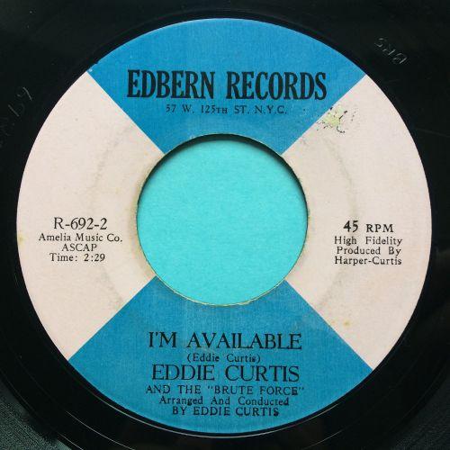 Eddie Curtis - I'm available - Edbern - Ex
