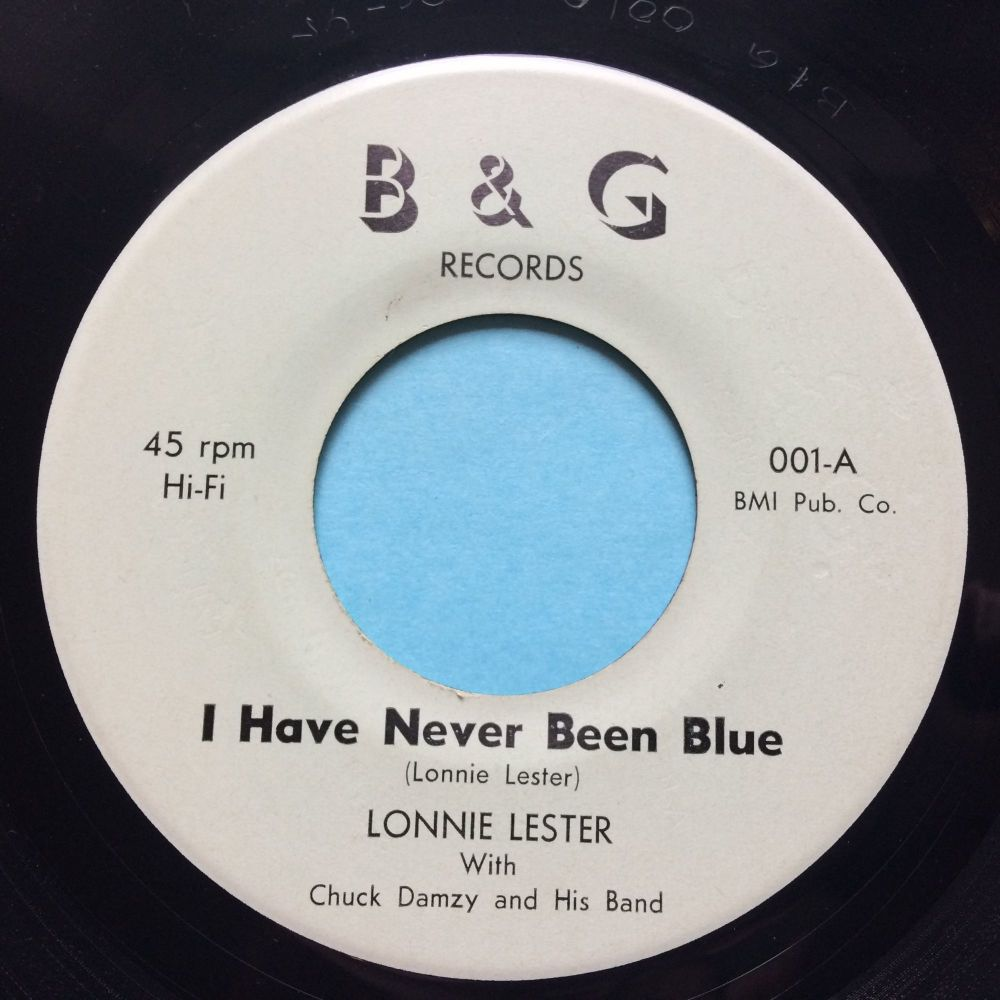 Lonnie Lester - I have never been blue - B&G - Ex