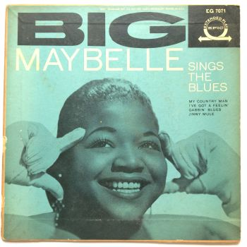 Big Maybelle - Sings the Blues E.P. with pic sleeve (Feat - I've got a feelin' / Jinny Mule / My country man + 1) - Epic - VG+