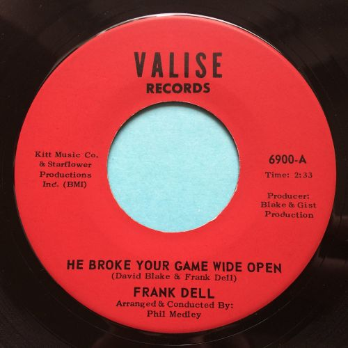 Frank Dell - He broke your game wide open - Valise - Ex (slight dish nap)