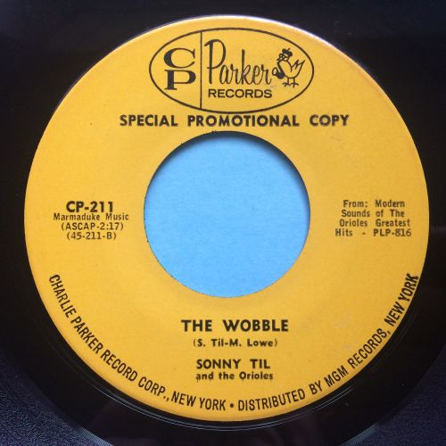Sonny Til and The Orioles - The Wobble - Charlie Parker - Ex