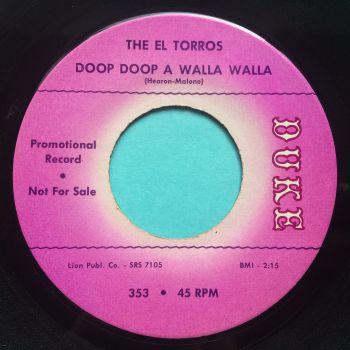 El Torros - Doop Doop A Walla Walla - Duke promo - Ex