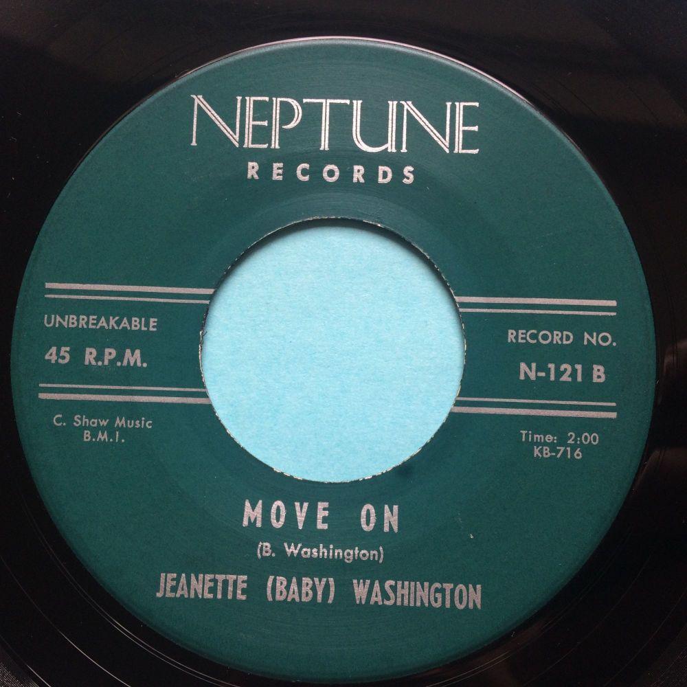 Jeanette (Baby) Washington - Move on - Neptune - Ex-