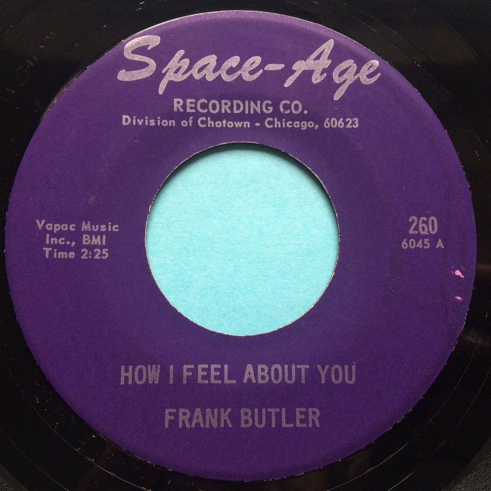 Frank Butler - How I feel about you - Space-Age - Ex- (slight edge warp nap
