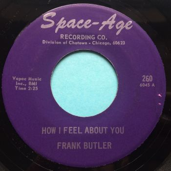 Frank Butler - How I feel about you - Space-Age - Ex- (slight edge warp nap)