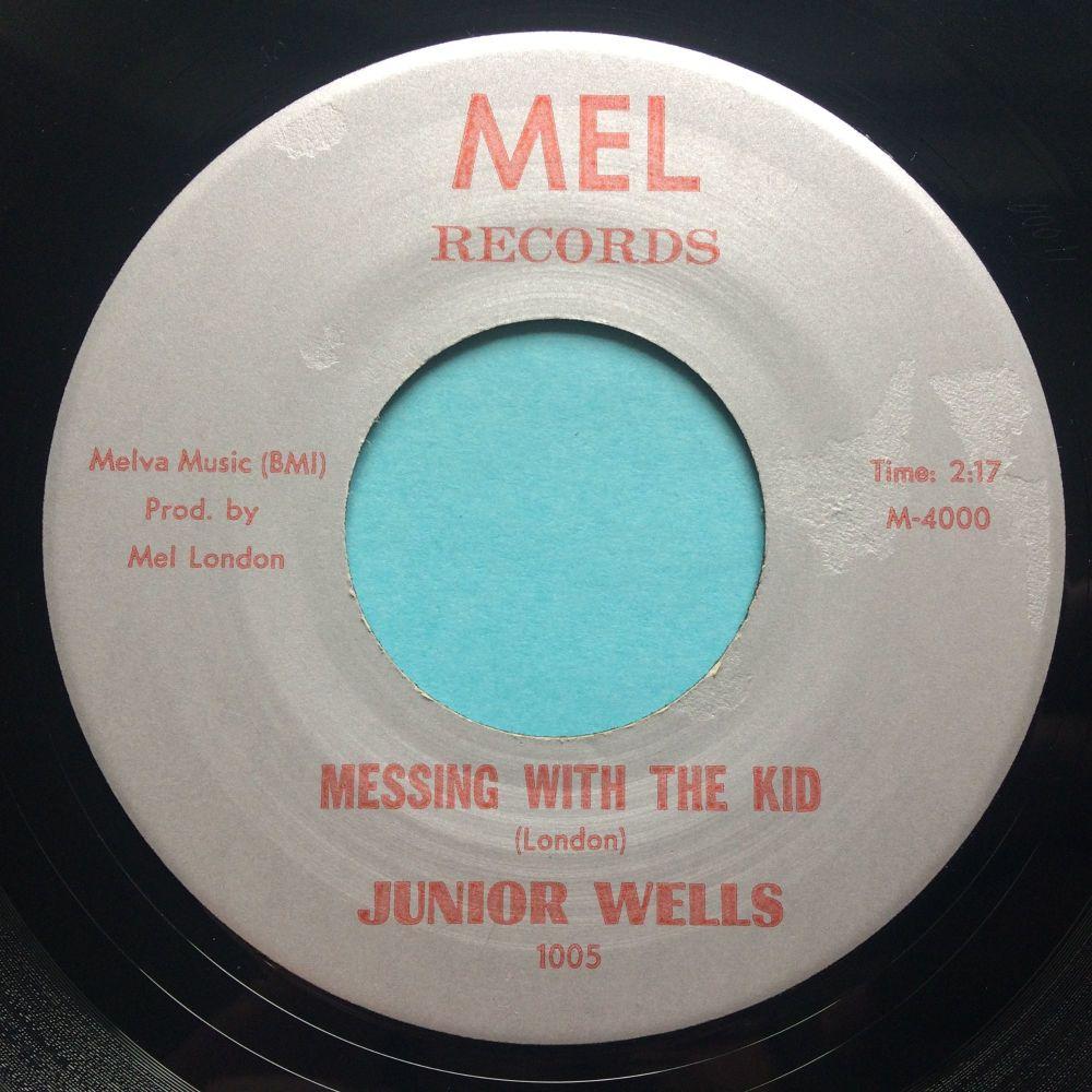 Junior Wells - Messing with the kid - Mel - Ex (slight edge warp nap)