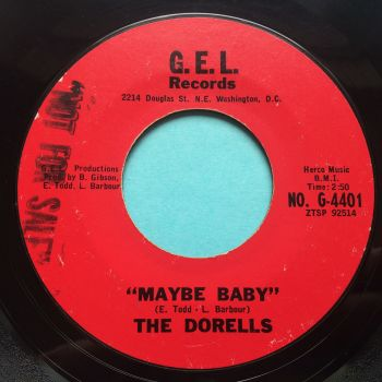 Dorells - Maybe baby b/w The beating of my heart - G.E.L. - Ex-
