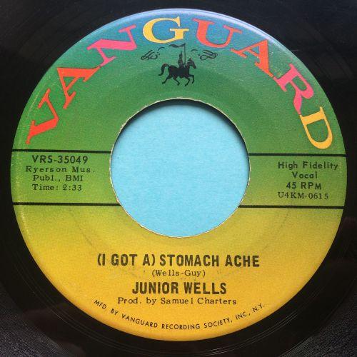 Junior Wells - (I got a) Stomache Ache b/w Shake it baby! - Vanguard - Ex-