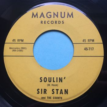 Sir Stan - Soulin' b/w The Nitty Gritty's in town - Magnum - Ex