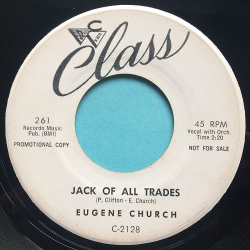 Eugene Church - Jack of all trades - Class promo - Ex-