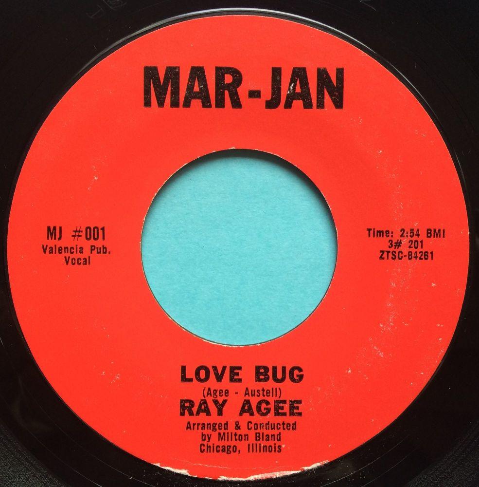 Ray Agee - Love Bug - Mar-Jan - Ex-