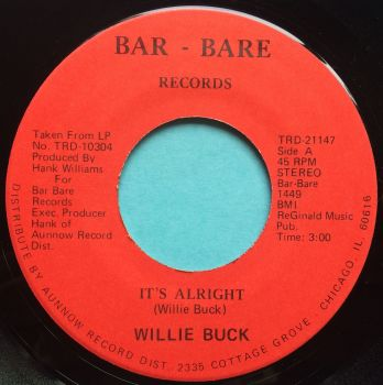 Willie Buck - It's alright - Bar-Bare - M-