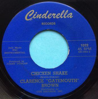 Clarence 'Gatemouth' Brown - Chicken Shake - Cinderella - Ex