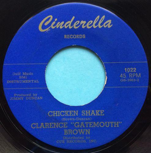 Clarence @Gatemouth' Brown - Chicken Shake - Cinderella - Ex