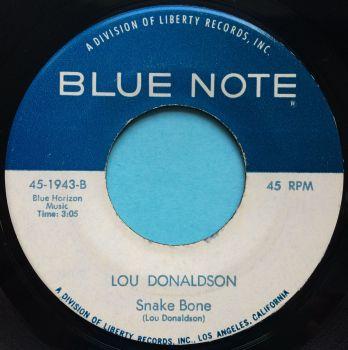 Lou Donaldson - Snake Bone - Blue Note - Ex