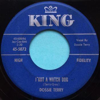 Dossie Terry - I got a watch dog b/w Thunderbird - King - VG+