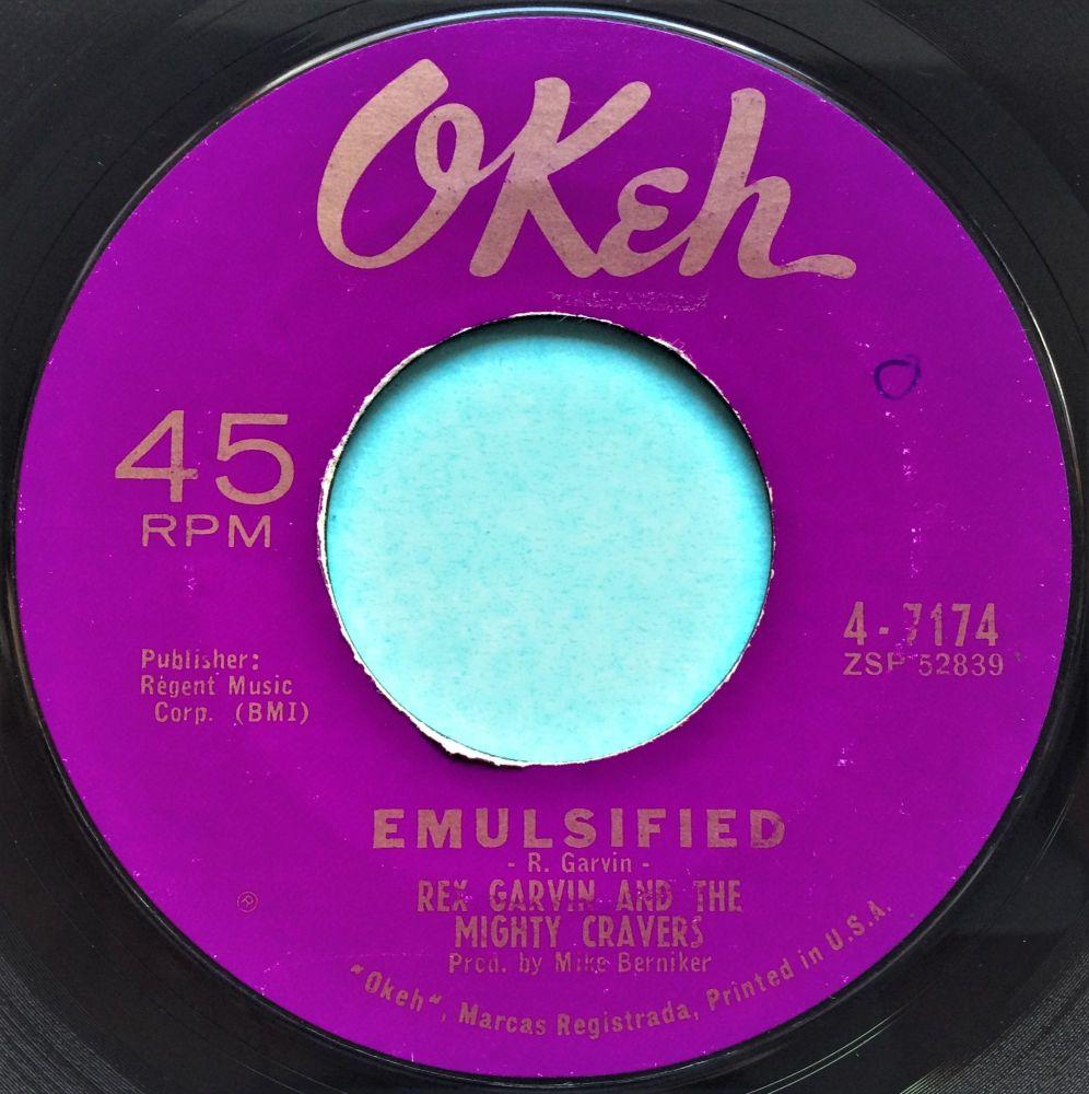 Rex Garvin - Emulsified - Okeh - Ex-