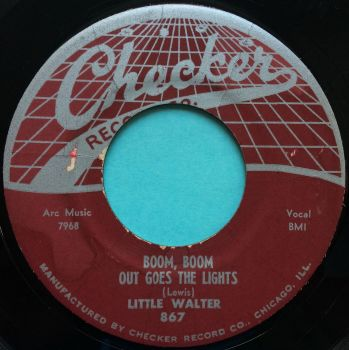 Little Walter - Boom, Boom, out goes the lights - Checker - VG+