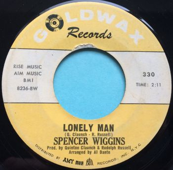 Spencer Wiggins - Lonely Man - Goldwax - VG+