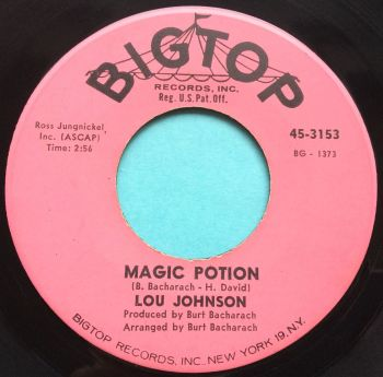 Lou Johnson - Magic Potion - Bigtop - Ex-