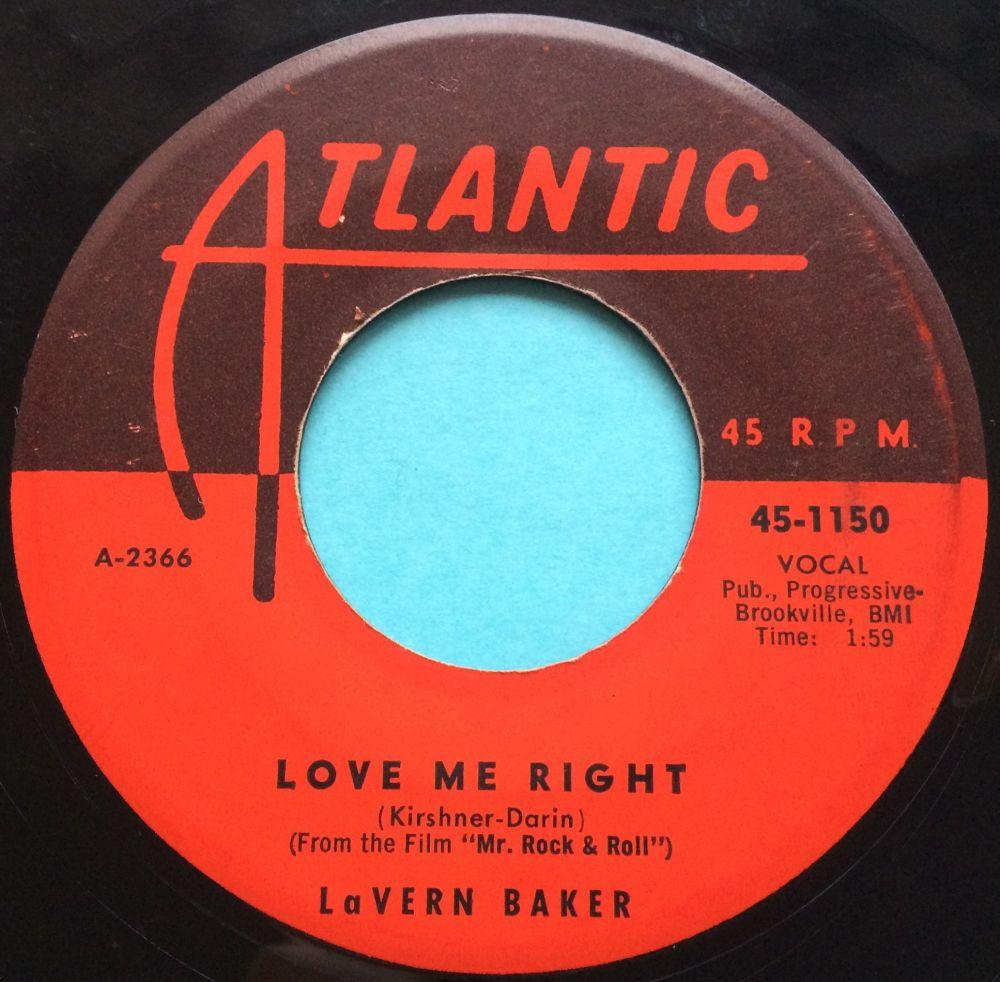 Lavern Baker - Love me right - Atlantic - Ex