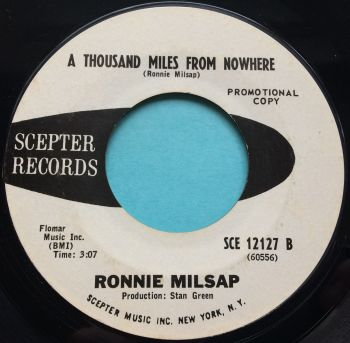 Ronnie Milsap - A thousand miles from nowhere - Scepter promo - Ex