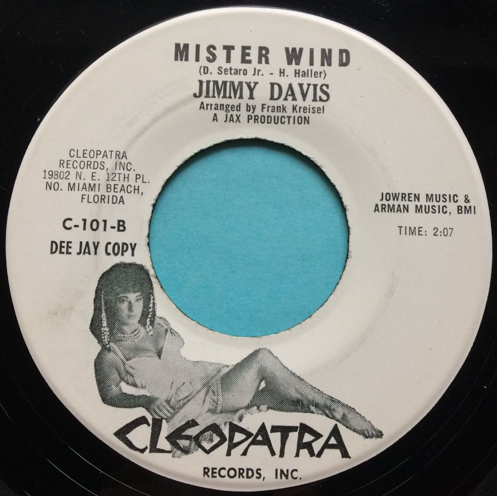 Jimmy Davis - Mister Wind - Cleopatra promo - Ex