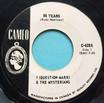 Question Mark & The Mysterians - 96 Tears - Cameo promo - Ex-