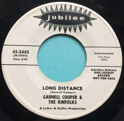Garnell Cooper - Long Distance b/w Green Monkey - Jubilee promo - Ex