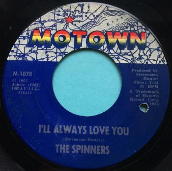 The Spinners - I'll always love you - Motown - VG+