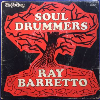 Ray Barretto - Soul Drummers b/w Mercy, Mercy Baby - (French) DiscJockey  - Ex-  (+ pic sleeve VG+)