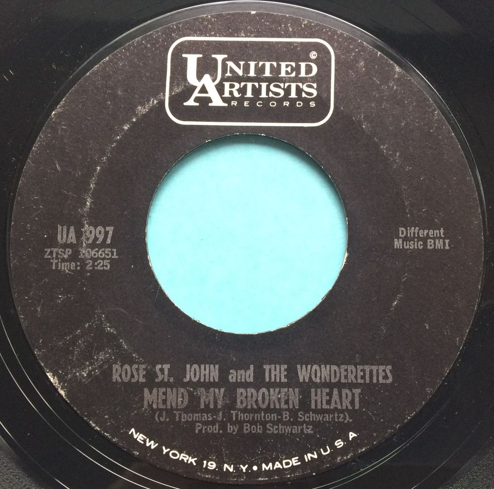 Rose St John and The Wonderettes - Mend my broken heart / And if I had my w