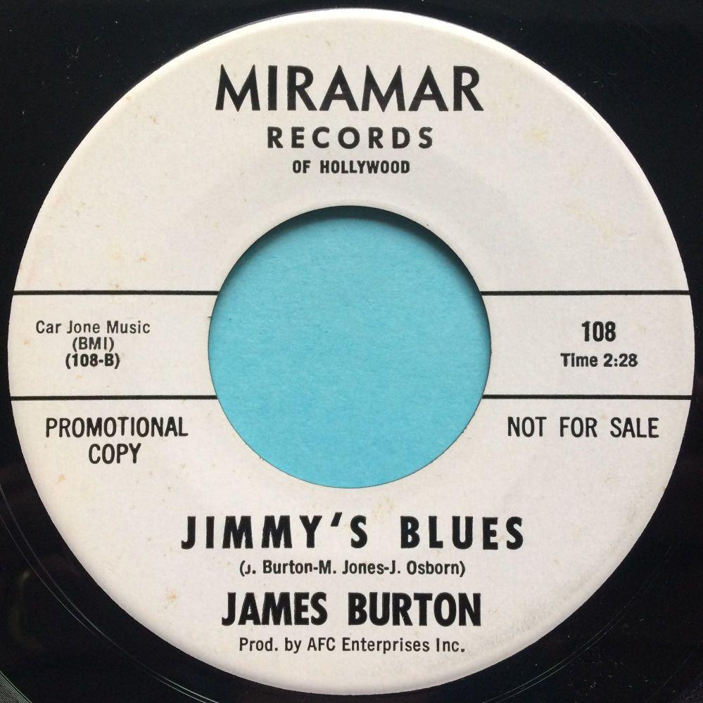 James Burton - Jimmys Blues - Miramar promo - Ex