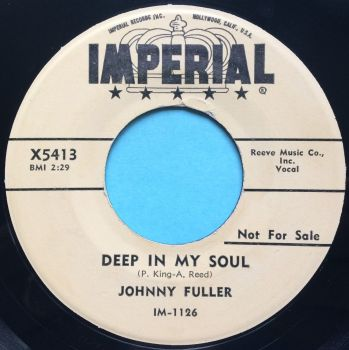 Johnny Fuller - Deep in my soul - Imperial promo - Ex-