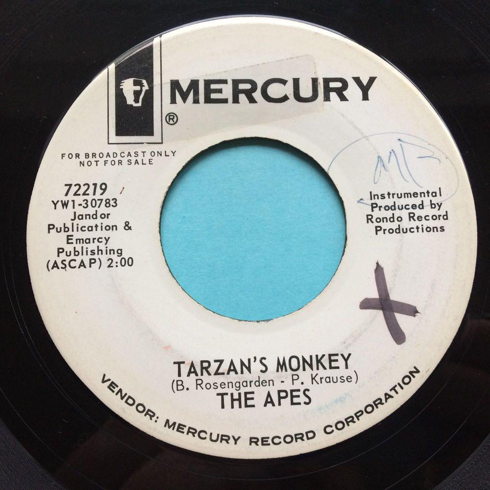 The Apes - Tarzan's monkey - Mercury promo - VG+ (wol, stkr residue)