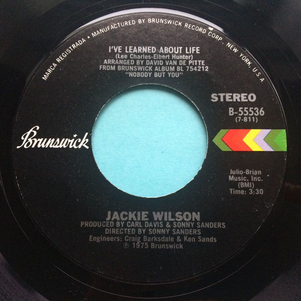 Jackie Wilson - I've learned about love - Brunswick - Ex