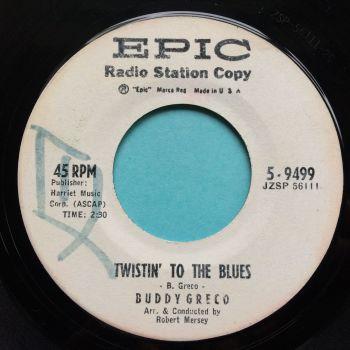 Buddy Greco - Twistin' to the blues - Epic - VG+