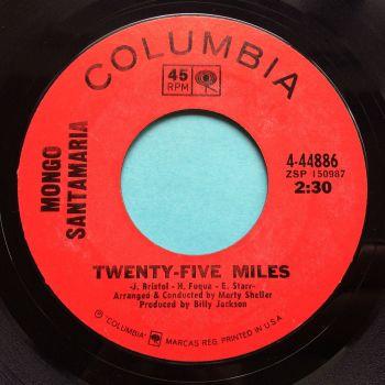 Mongo Santamaria - Twenty Five Miles - Columbia - Ex-