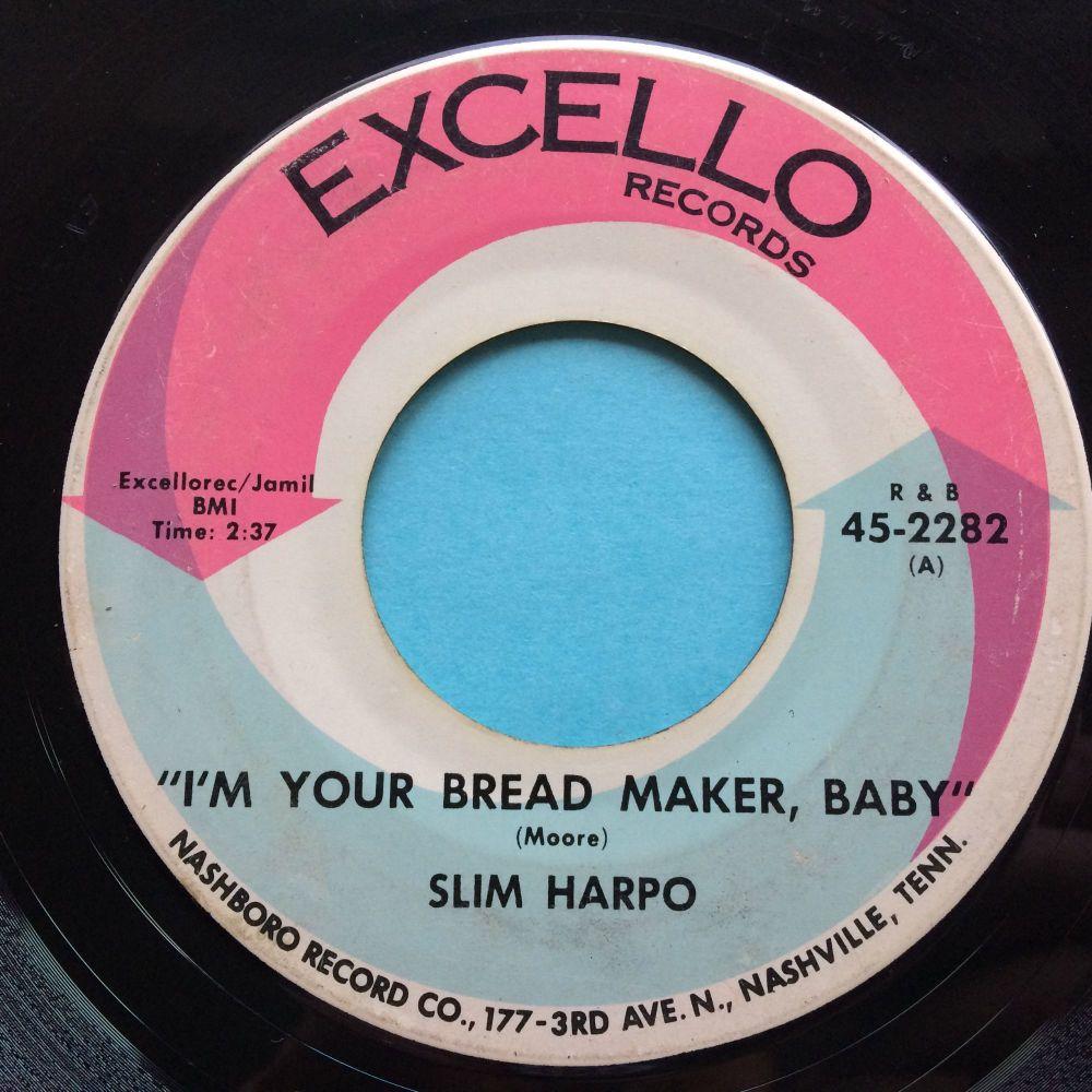 Slim Harpo - I'm your bread maker, baby - Excello - VG+