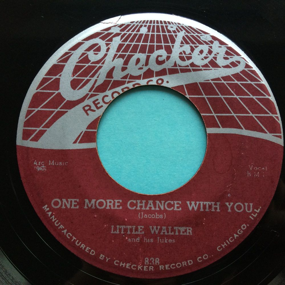 Little Walter - One more chance with you b/w Flying saucer - Checker - VG+