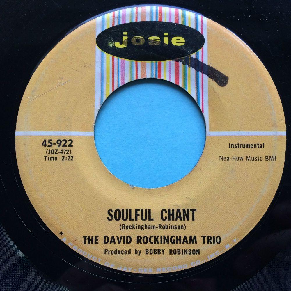 David Rockingham Trio - Soulful Chant - Josie - VG+ (wol)