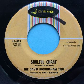 David Rockingham Trio - Soulful Chant - Josie - VG+ (wol)