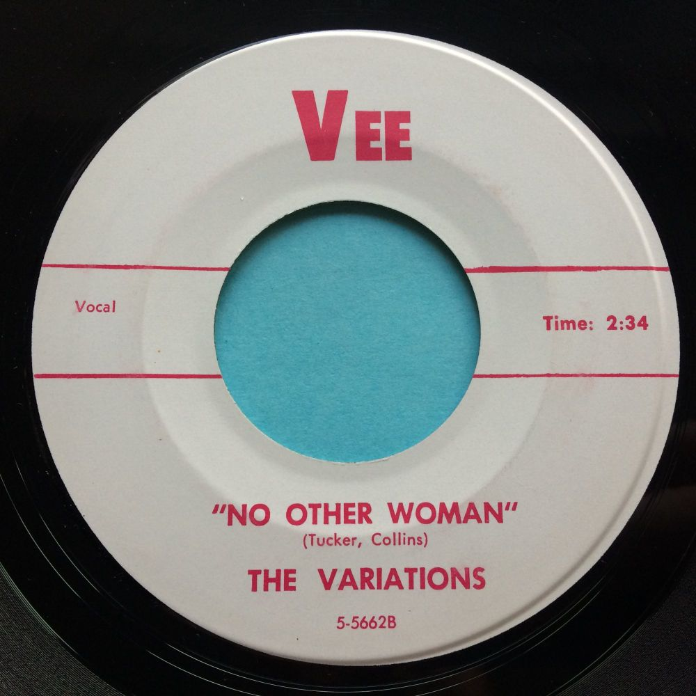 Variations - No other woman b/w Gary's theme - Vee - Ex