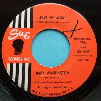 Baby Washington - Leave me alone - Sue - Ex-