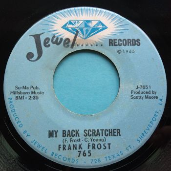 Frank Frost - My back scratcher b/w Harp and Soul - Jewel - Ex-