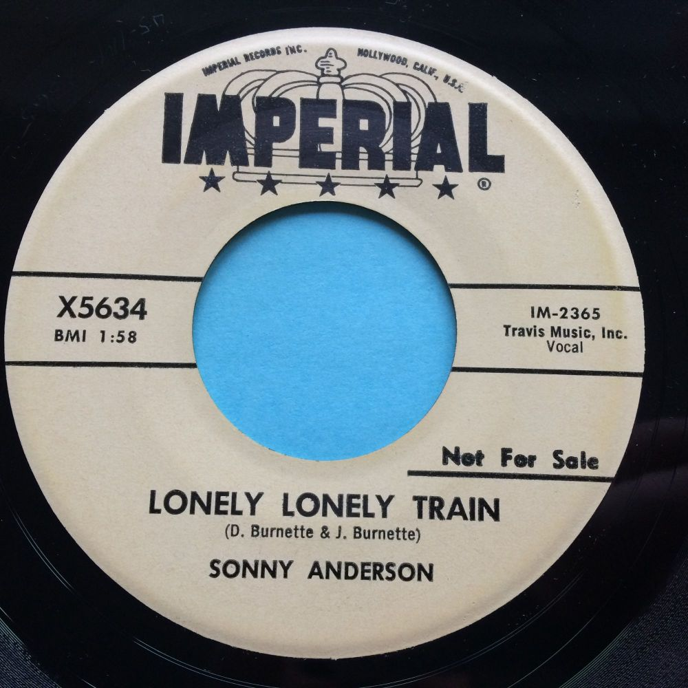 Sonny Anderson - Lonely lonely train - Imperial promo - Ex