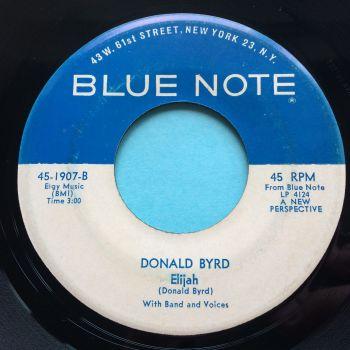 Donald Byrd - Elijah - Blue Note - Ex-