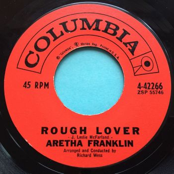 Aretha Franklin - Rough Lover - Columbia - Ex-