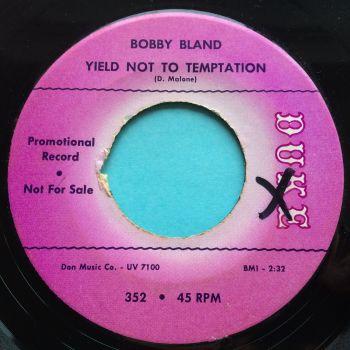 Bobby Bland - Yield not to temptation - Duke promo - Ex-